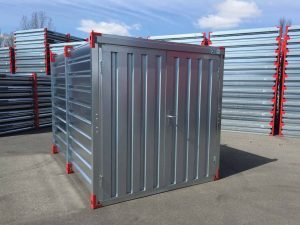 4m Storage Container with Double Leaf Front Door