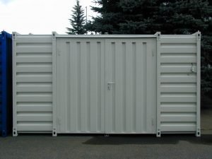 4m Storage Container with Double Leaf Side Door