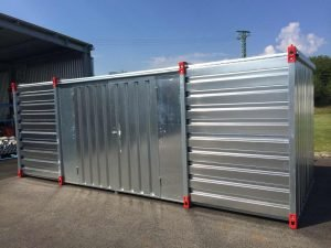 5m Storage Container with Double Leaf Side Door