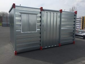 4m Container - Site Office & Security Cabin