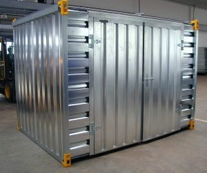 3m Storage Container with Double Side Door