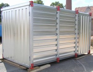 6m Storage Container with Single Side Door