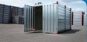 3m Storage Container with Steel Floor & Double Door