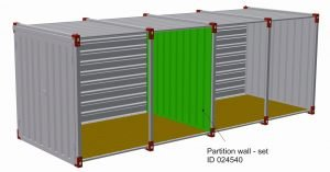 Container Partition Wall
