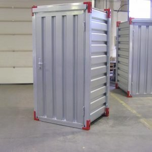 1 x 1.2 Metre Storage Container with Steel Floor & Door