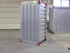 1 x 1.2 Metre Storage Container with Wooden Floor & Door