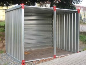 4m Flat Pack Universal Shed